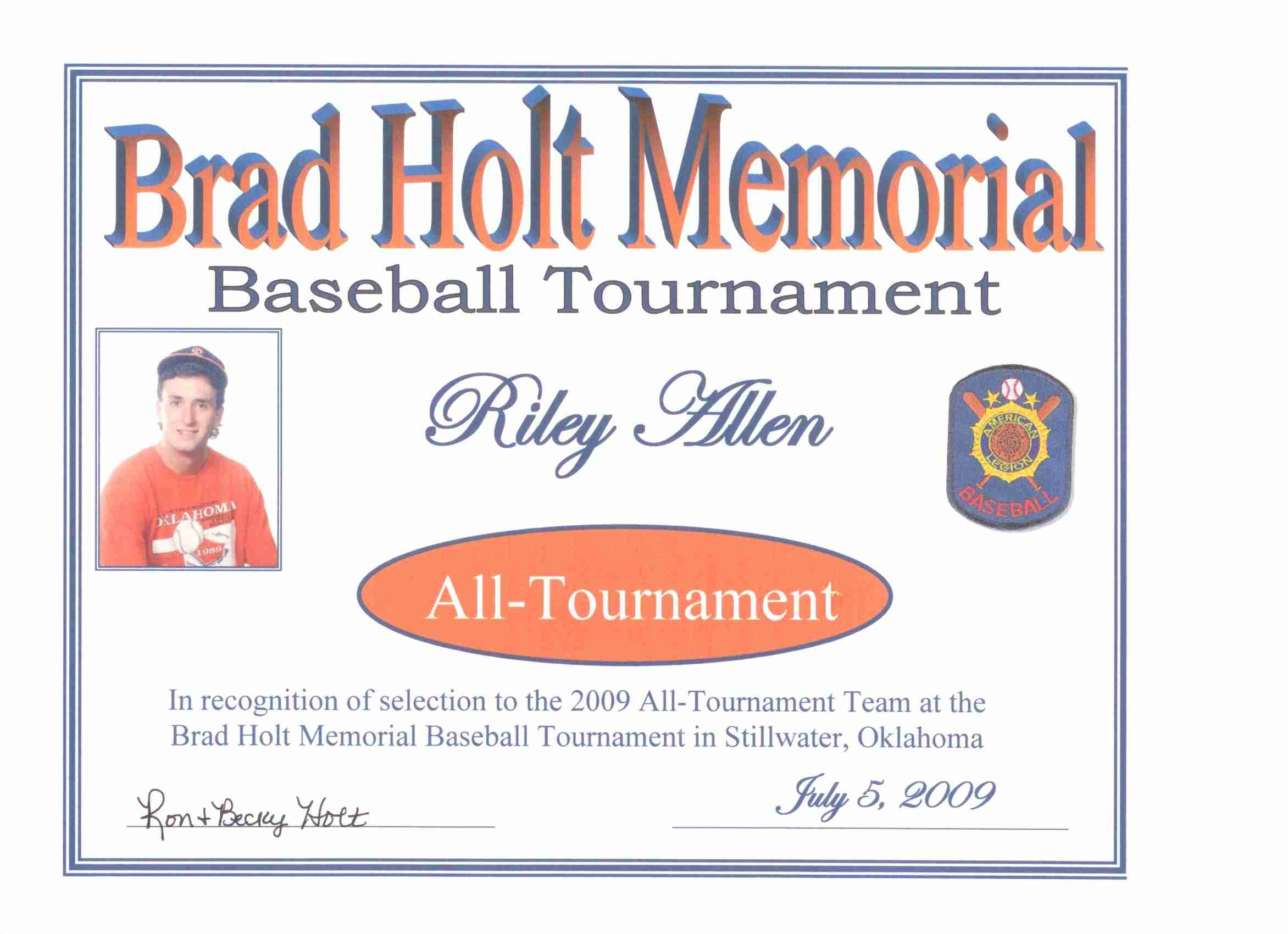 Riley All-Tournament Team