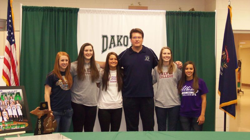 2012-13 Senior Signing Day - 2