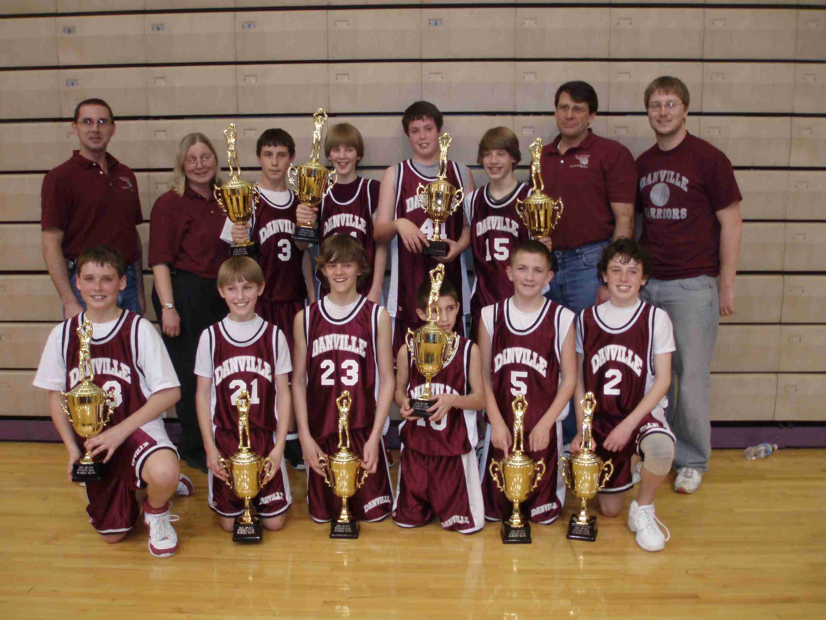 6th Grade USSFA State Champs 2008