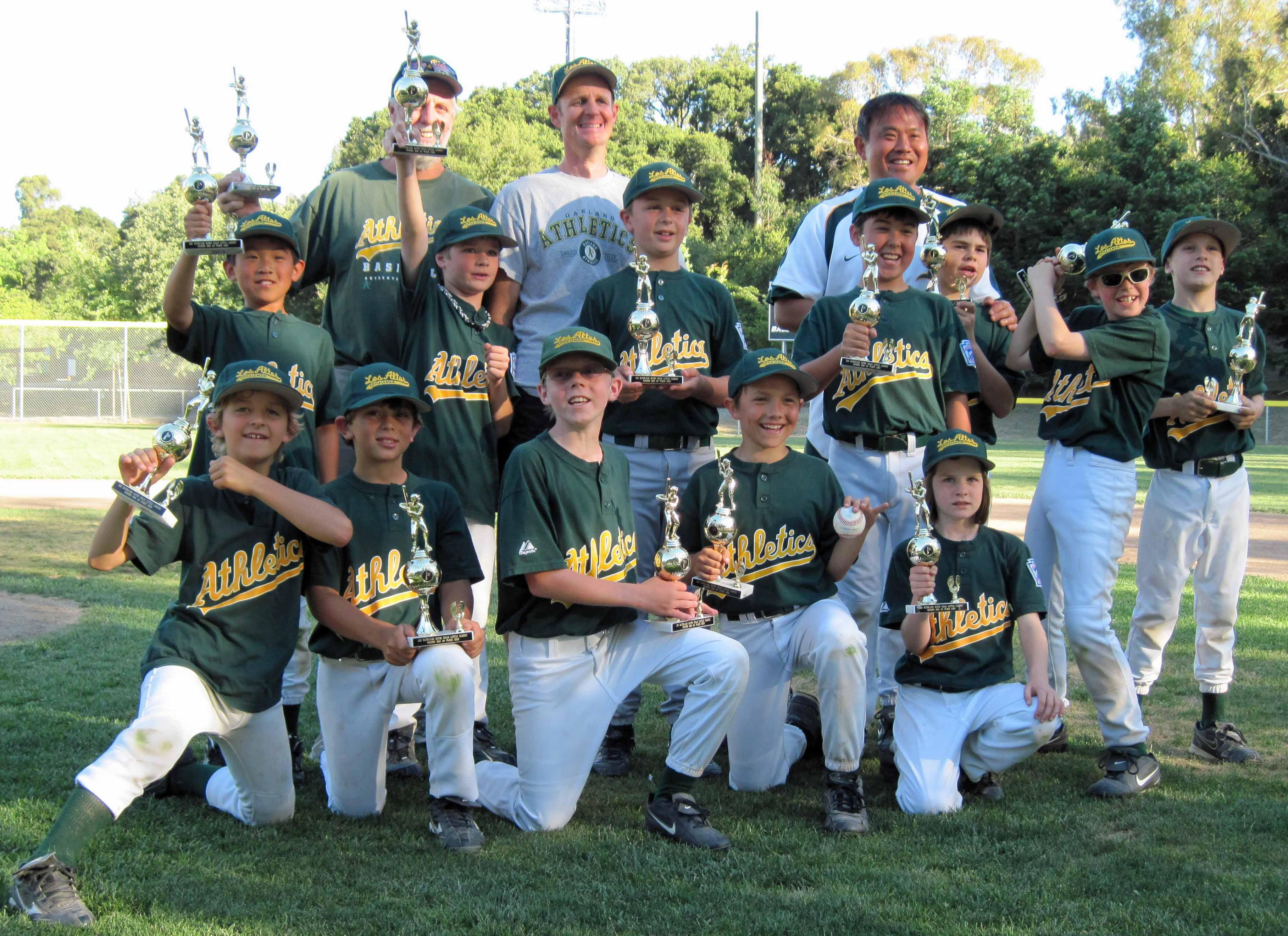 AAA A's 2010 Tournament Champions, by Ken Burton