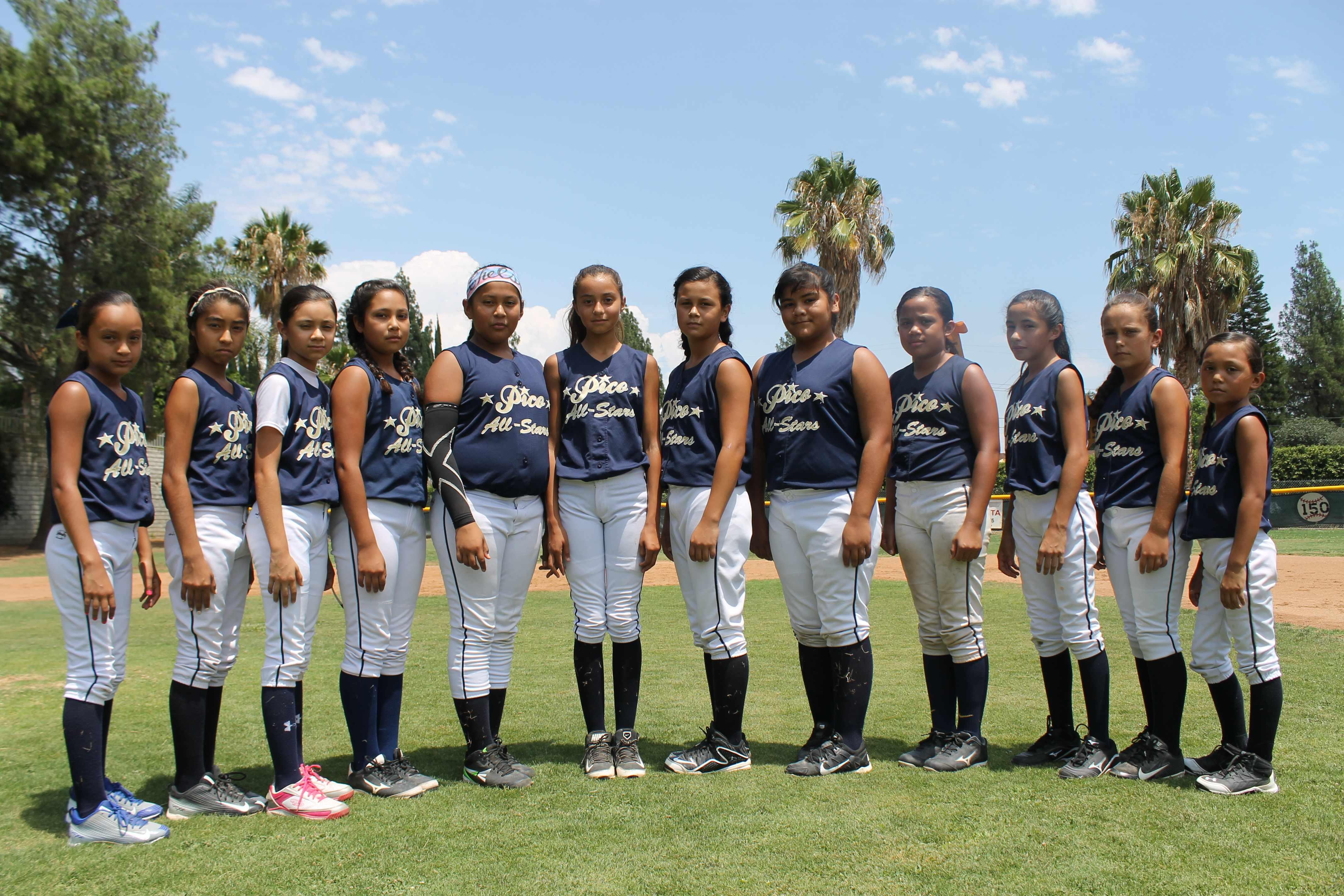 pico rivera girls softball