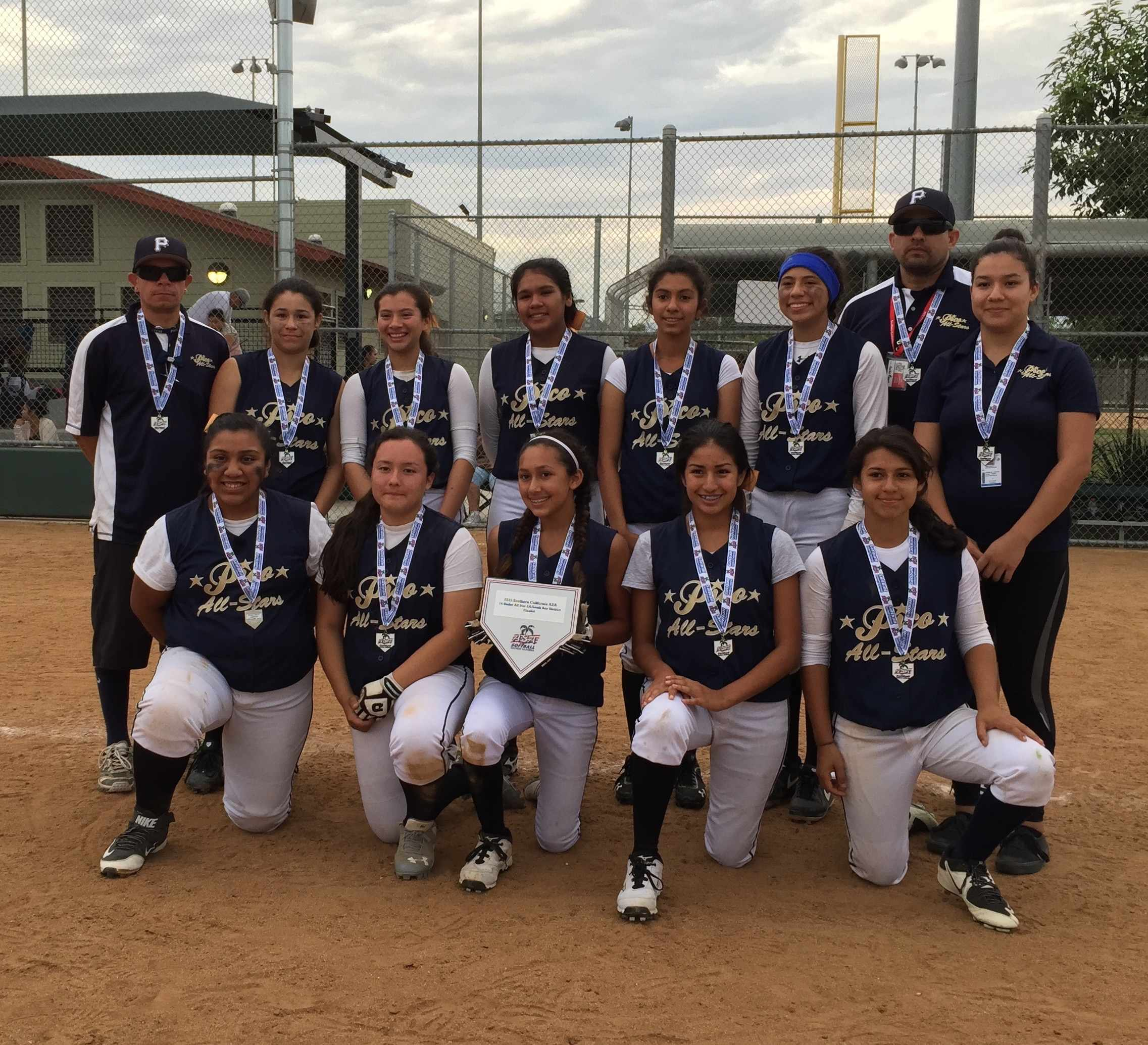 pico rivera girls softball