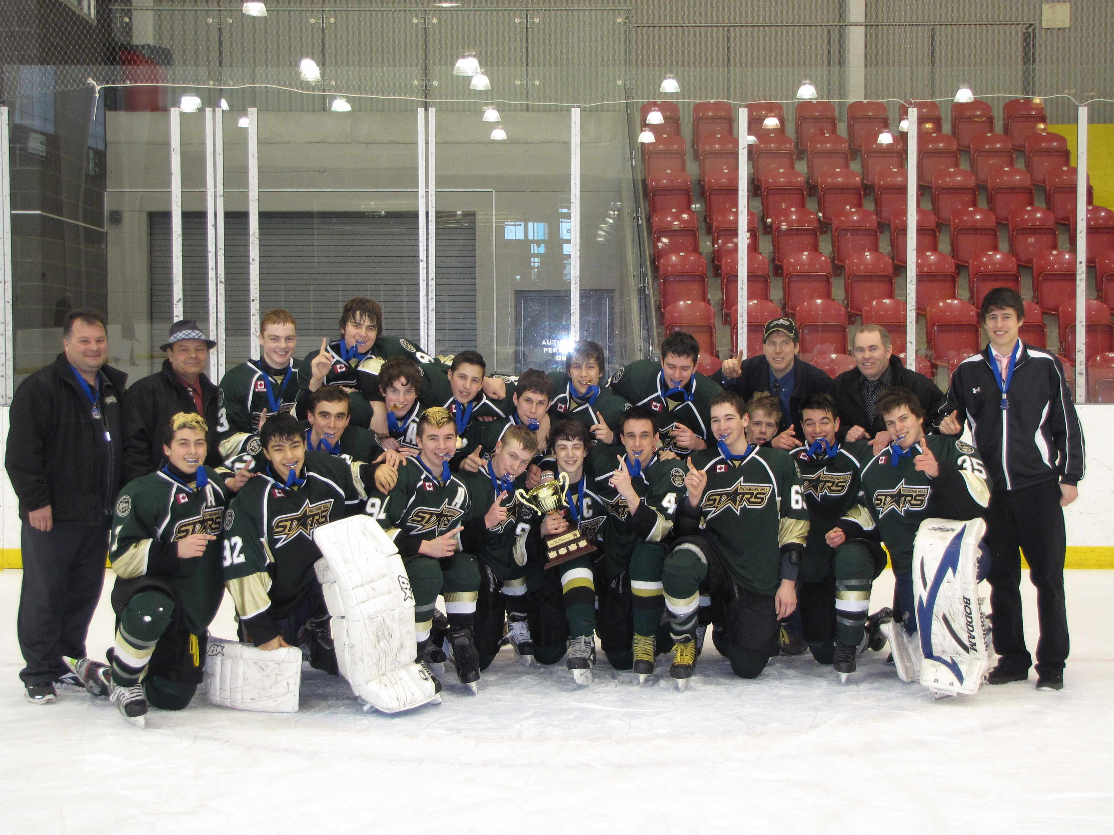 Stars win Minor Midget York Simcoe