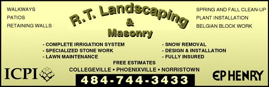 RT Landscaping logo
