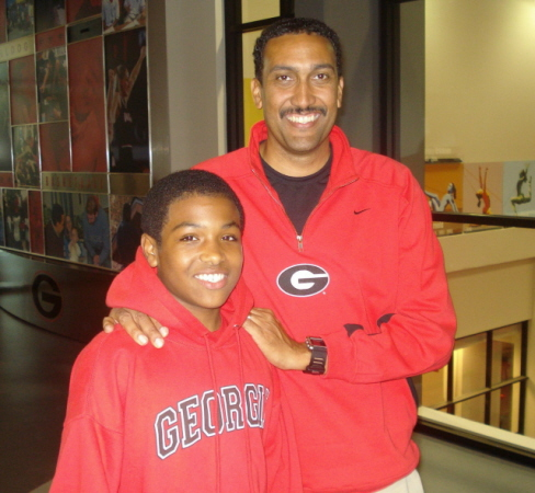 YONEL & UGA HEAD COACH