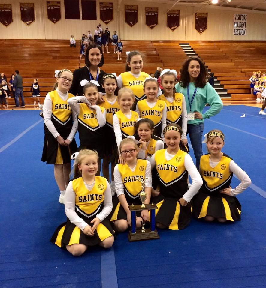 5th-8th Grade Cheerleading Squad