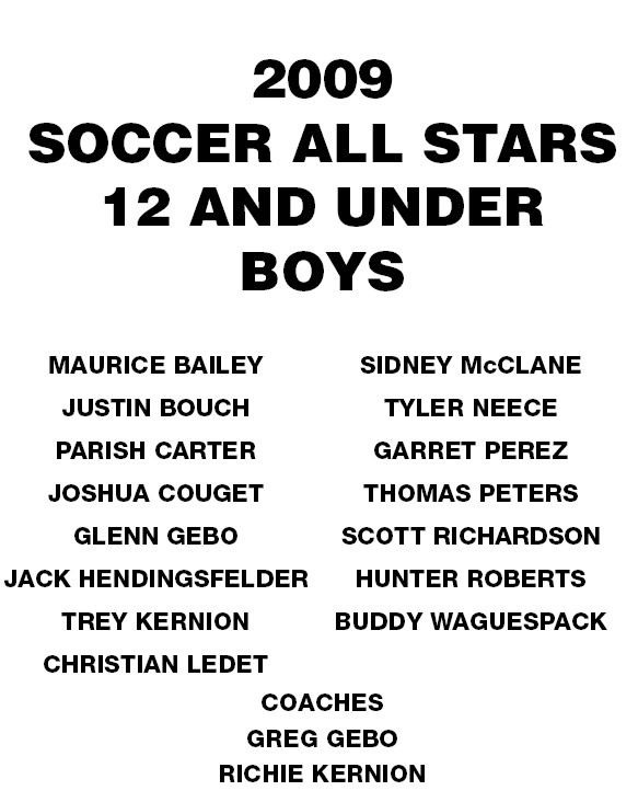Socc09 = U12 Allstar Roster
