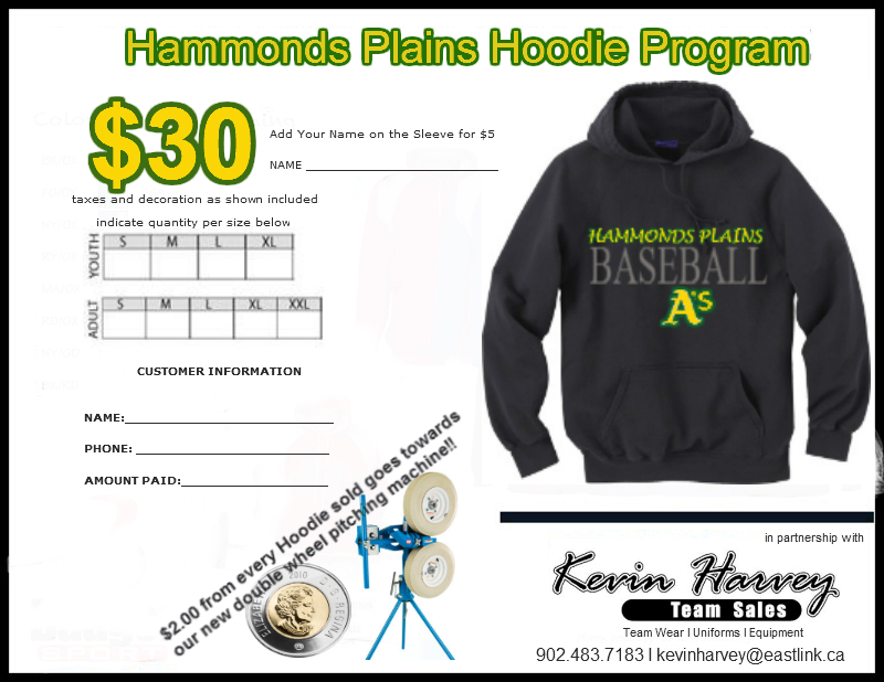 2012 Hoodie Program