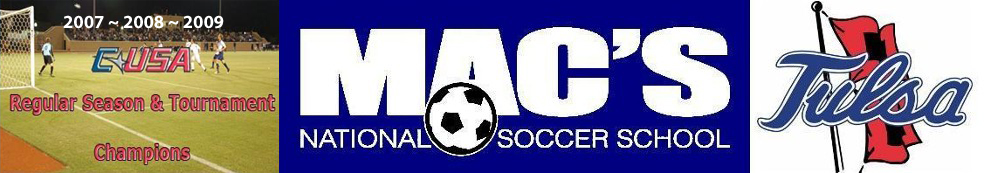 Mac's National Soccer School:  Boys & Girls Soccer Camps