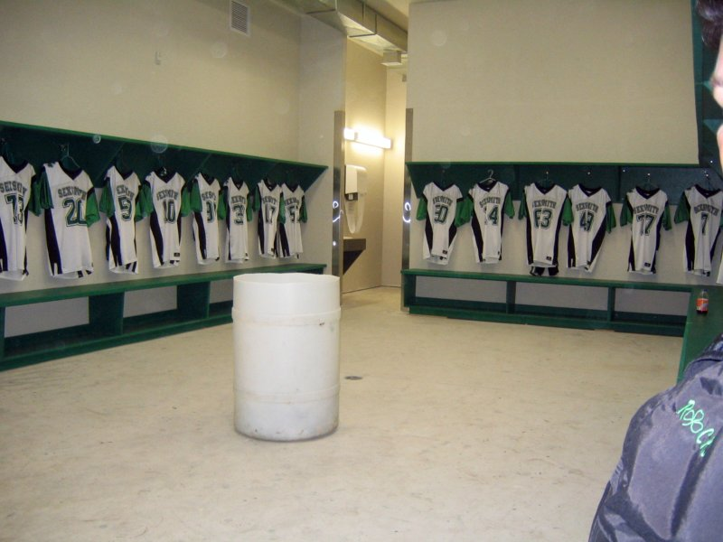 Rocks Locker room
