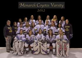2012 Coyote Girls Varsity Hockey