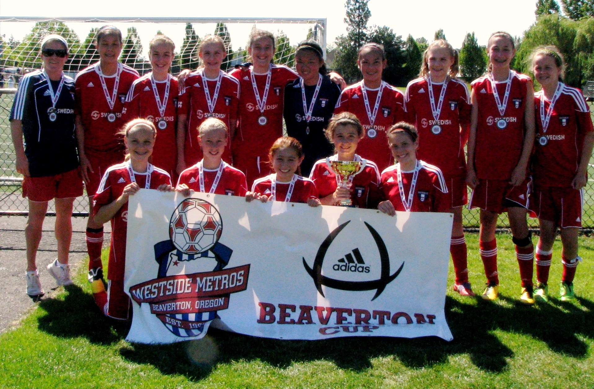 Beaverton adidas Cup Champs