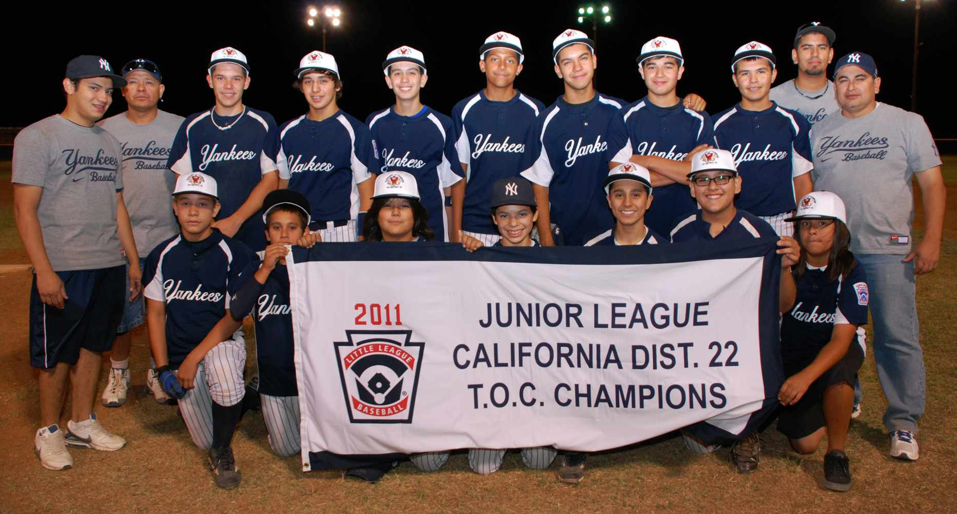 The Yankees-Junior League Champions