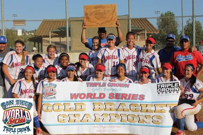 Corona Angels Lockman - 2012 14U TCS World Series Champions