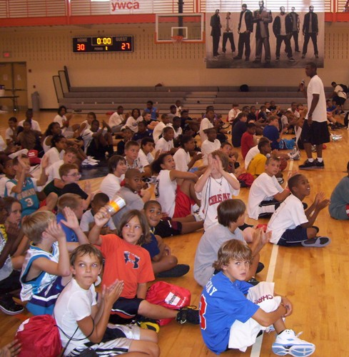 CP3 GIVES CAMP TALK