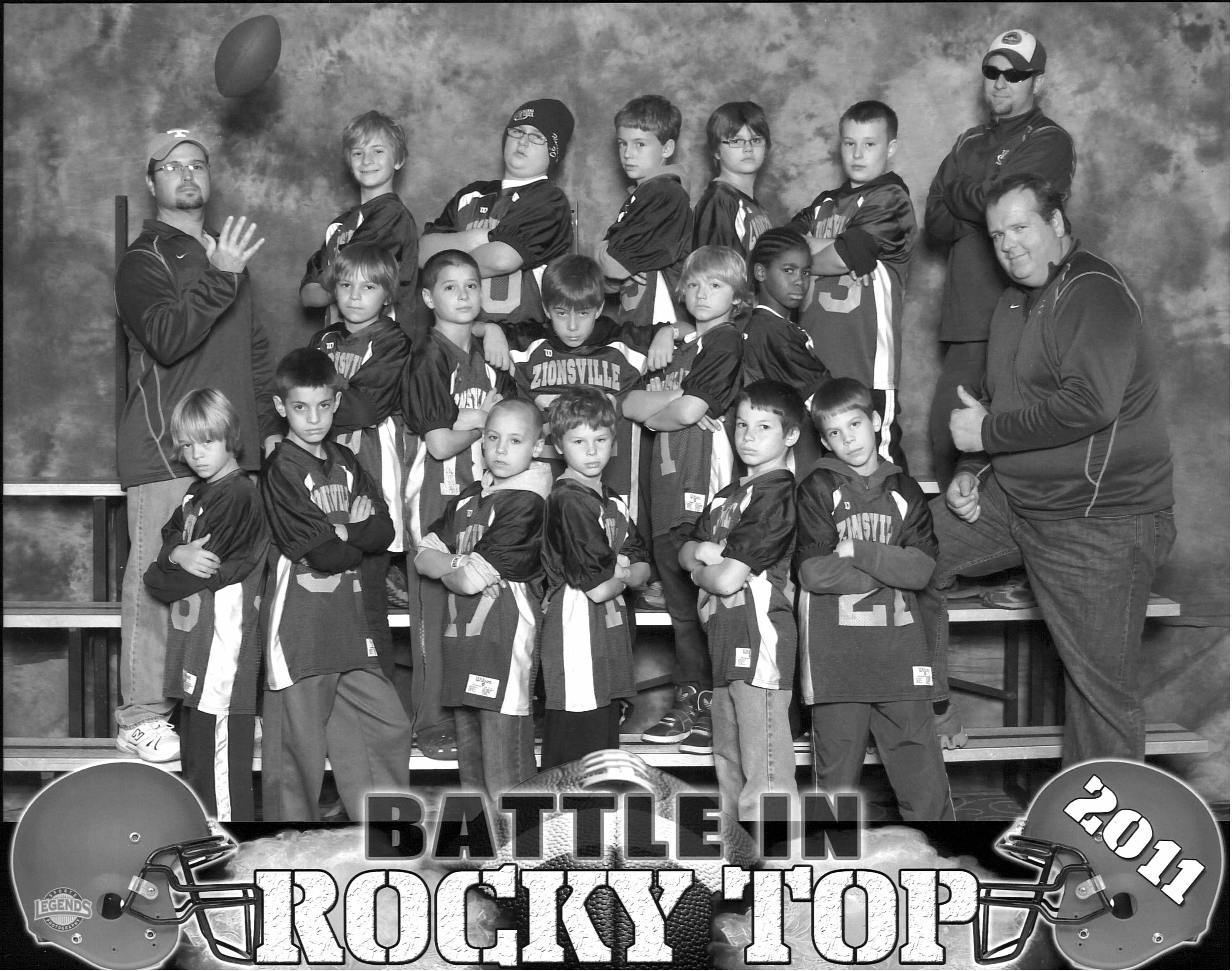 2011 Rocky Top Minors Team