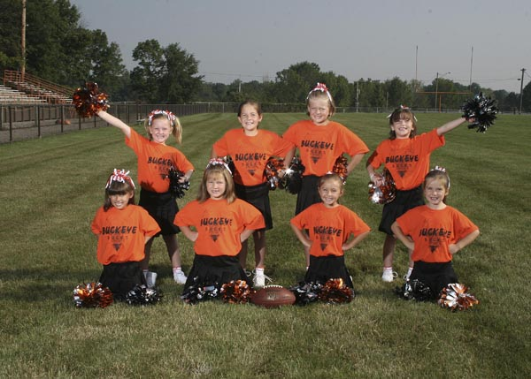 2009 Bucks Flag Cheerleaders