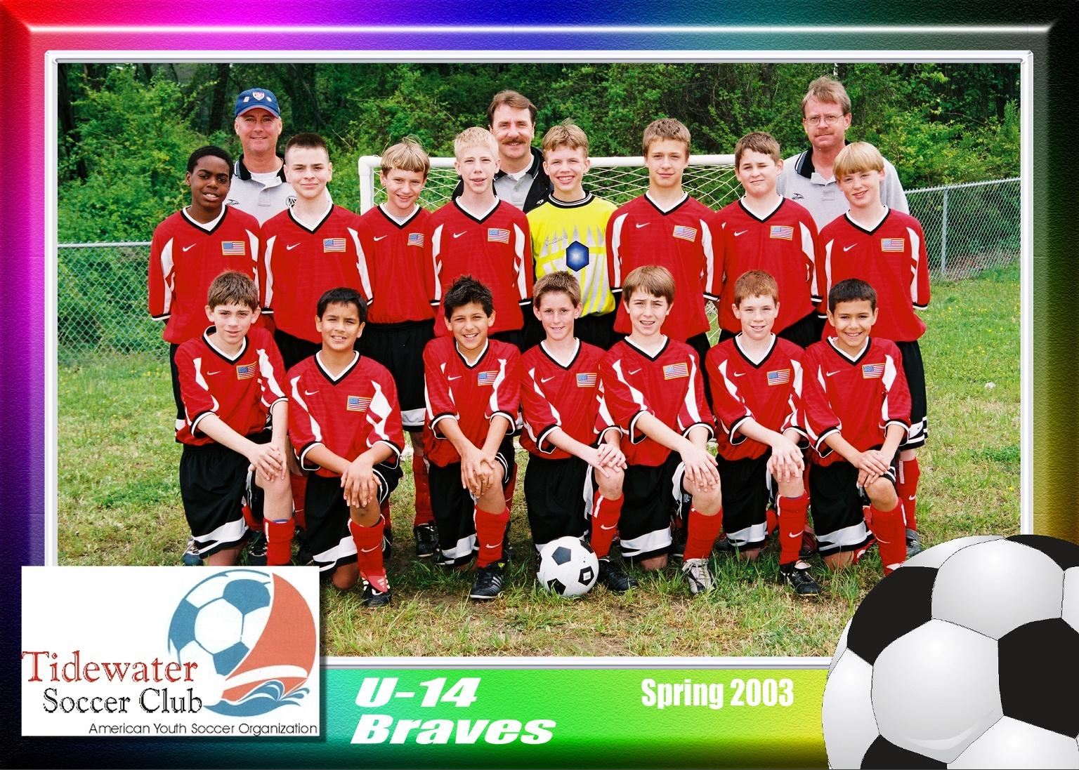 2003 SPRING U14 BRAVES