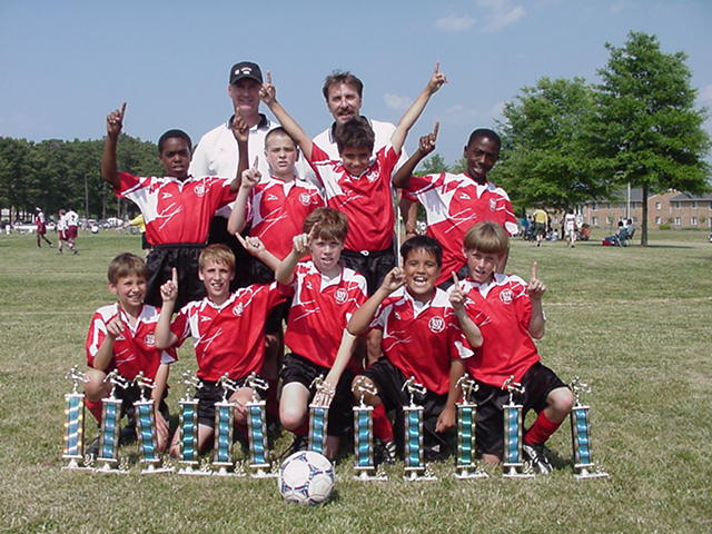 SPRING 2001 CHAMPIONS