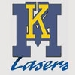 km logo