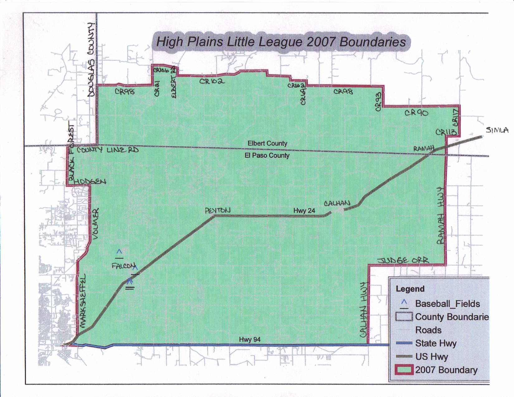 HPLL Boundaries Map