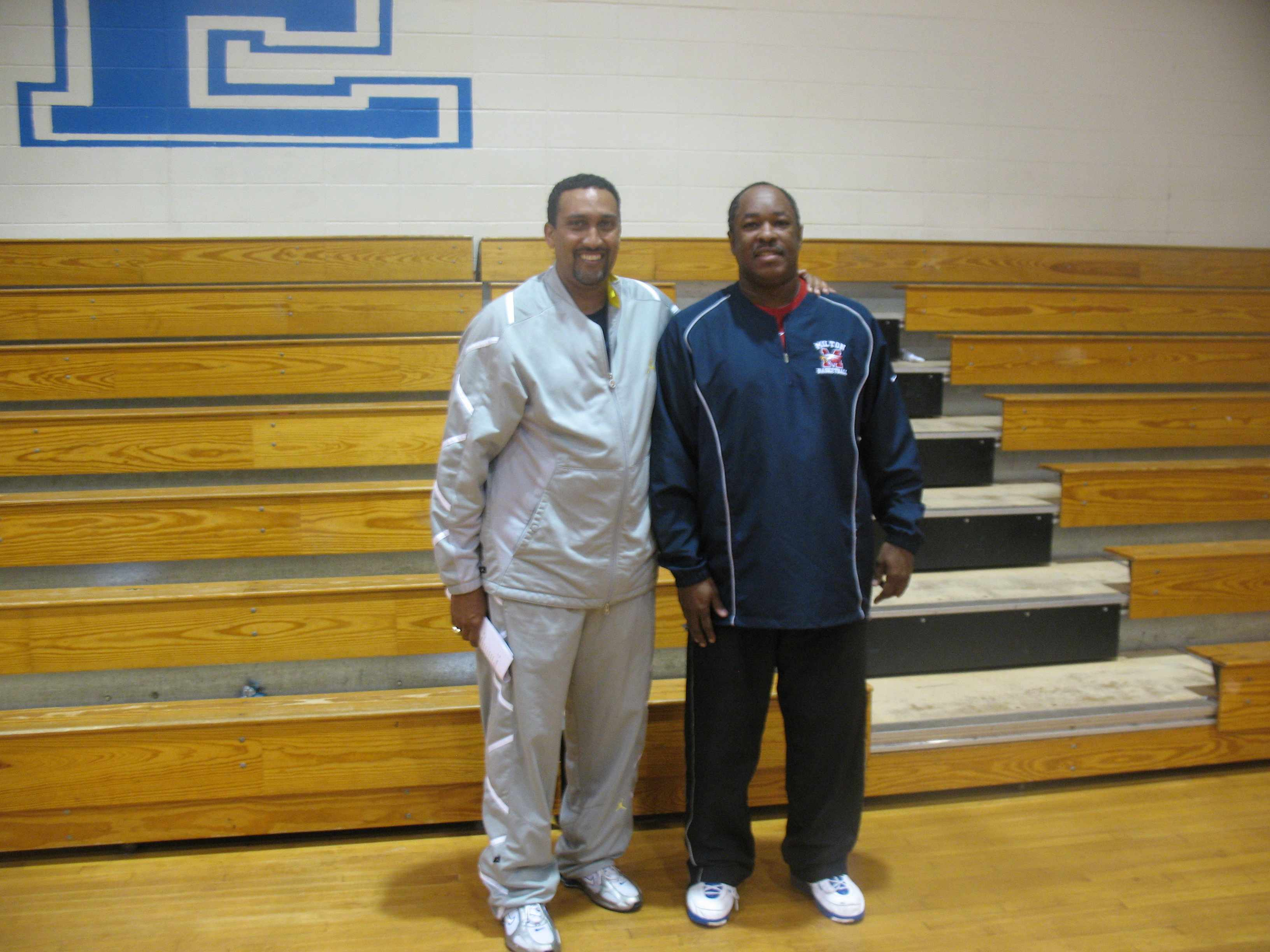 Coach E and Coach D
