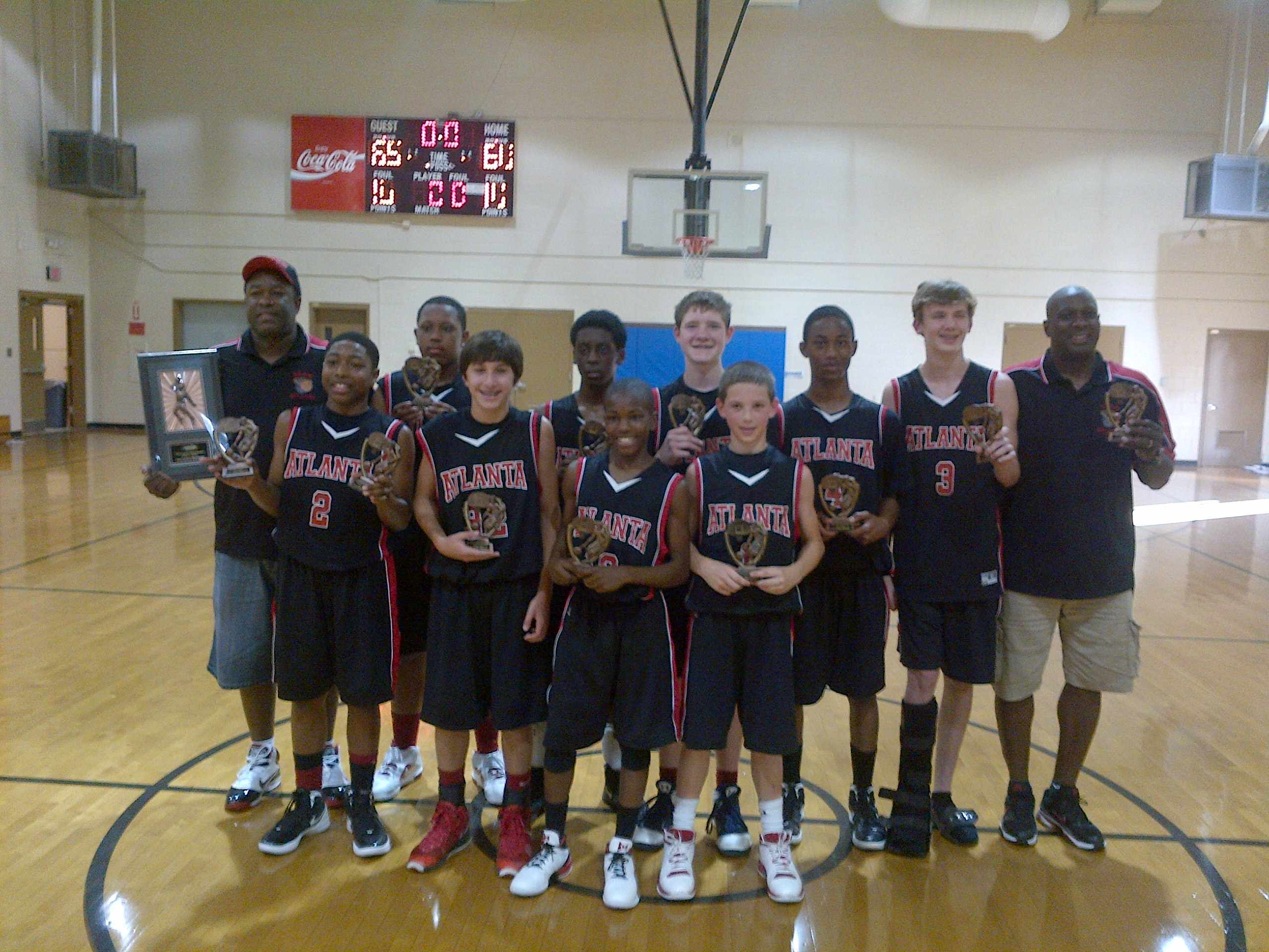 YBOA 2012 Tournament win
