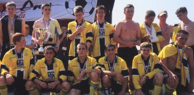 Team at presentaion Haarlem 2001
