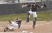 Game Two - Chase Rowe sliding home