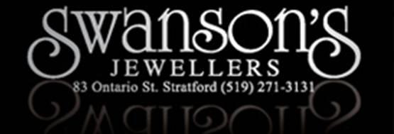 Swanson's Jewellers Logo, Stratford, Ontario