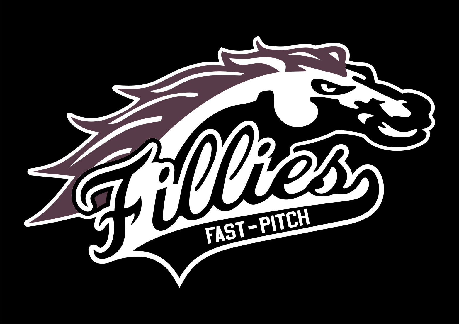 fillies logo black