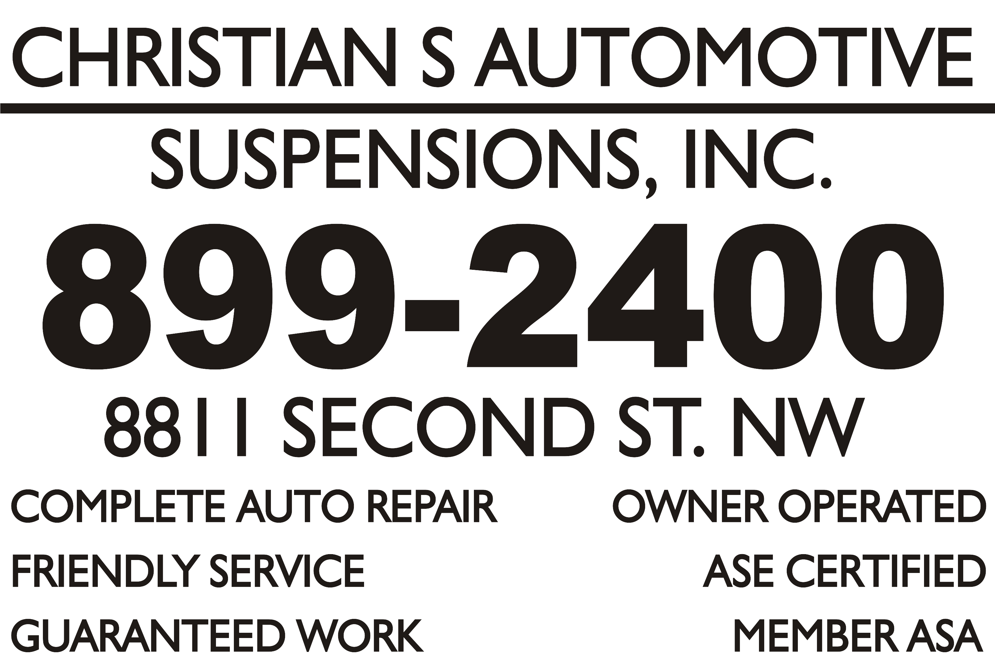 Christians Automotive