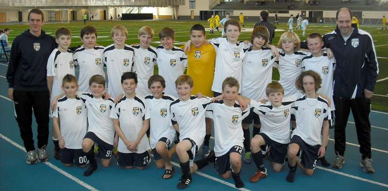 U12 boys At GVSU