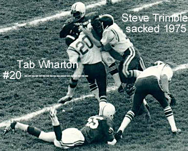 Tab Wharton sacks Trimble 75