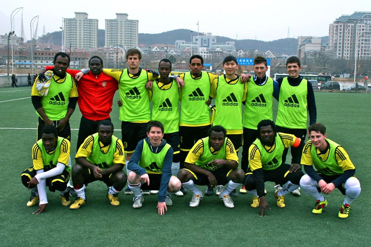 Friendly Team Photo