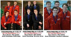 Boys State Record Relays