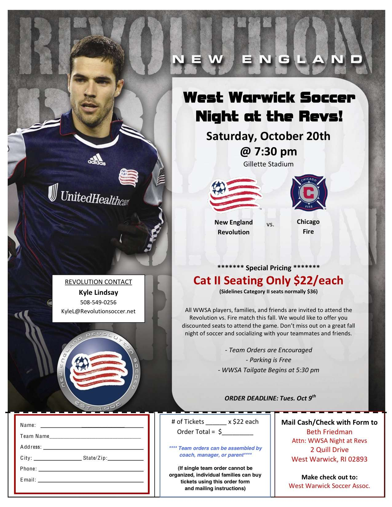 WWSA Night at the REVS
