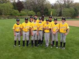 Rampage 13U Gold Uniforms