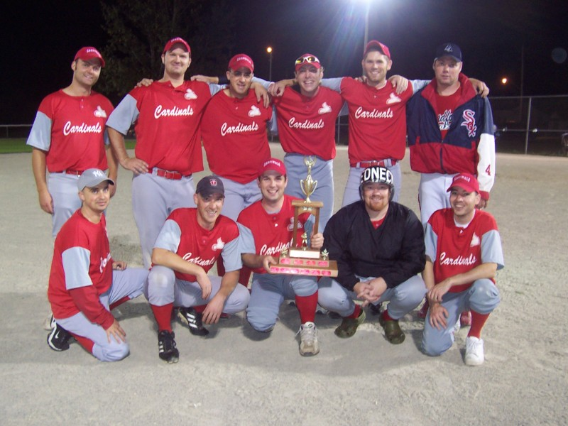 2008 Queensville Fastball League Champs
