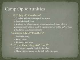 campp opportunities