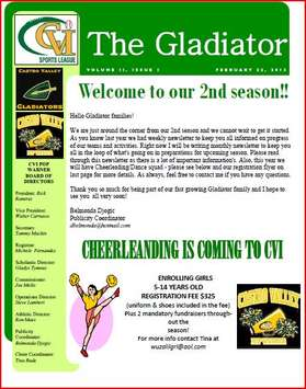 The Gladiator  Feb 24 2013