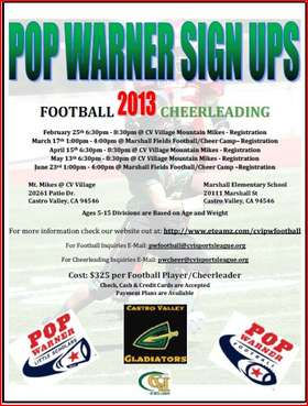 2013 Sign up flyer