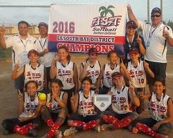 ASA District Tournament: 12U Gold
