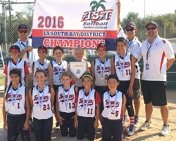ASA District Tournament: 10U Gold