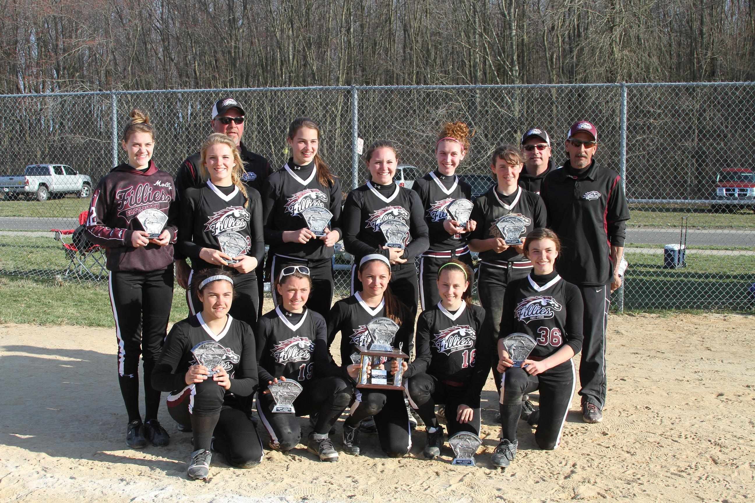 14u maroon spring storm 2nd place