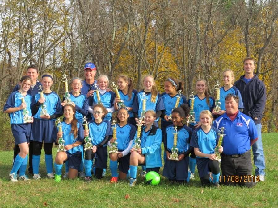 Girls 7-8 Champions!