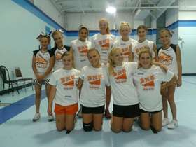 2012 Junior High Cheerleaders