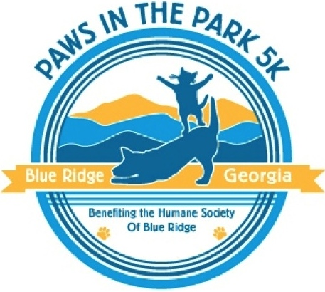 Cheer at the Paws in the Park 5K--Oct 18