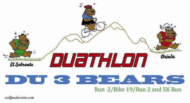 RaceThread.com Du 3 Bears - Duathlon and 5M