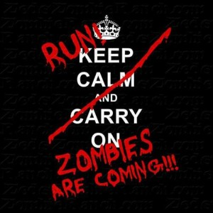Zombie Run Running Scared...A 5K for the Zombie Apocalypse